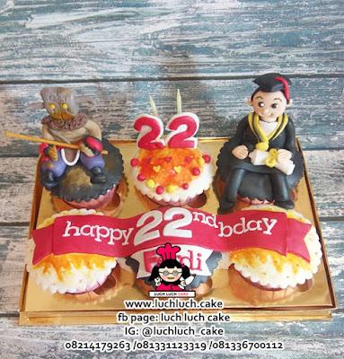 Cupcake Hadiah Wisuda