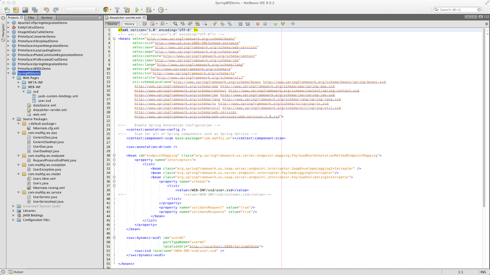 Citputer: Spring Web Service Complete Tutorial Using Netbeans