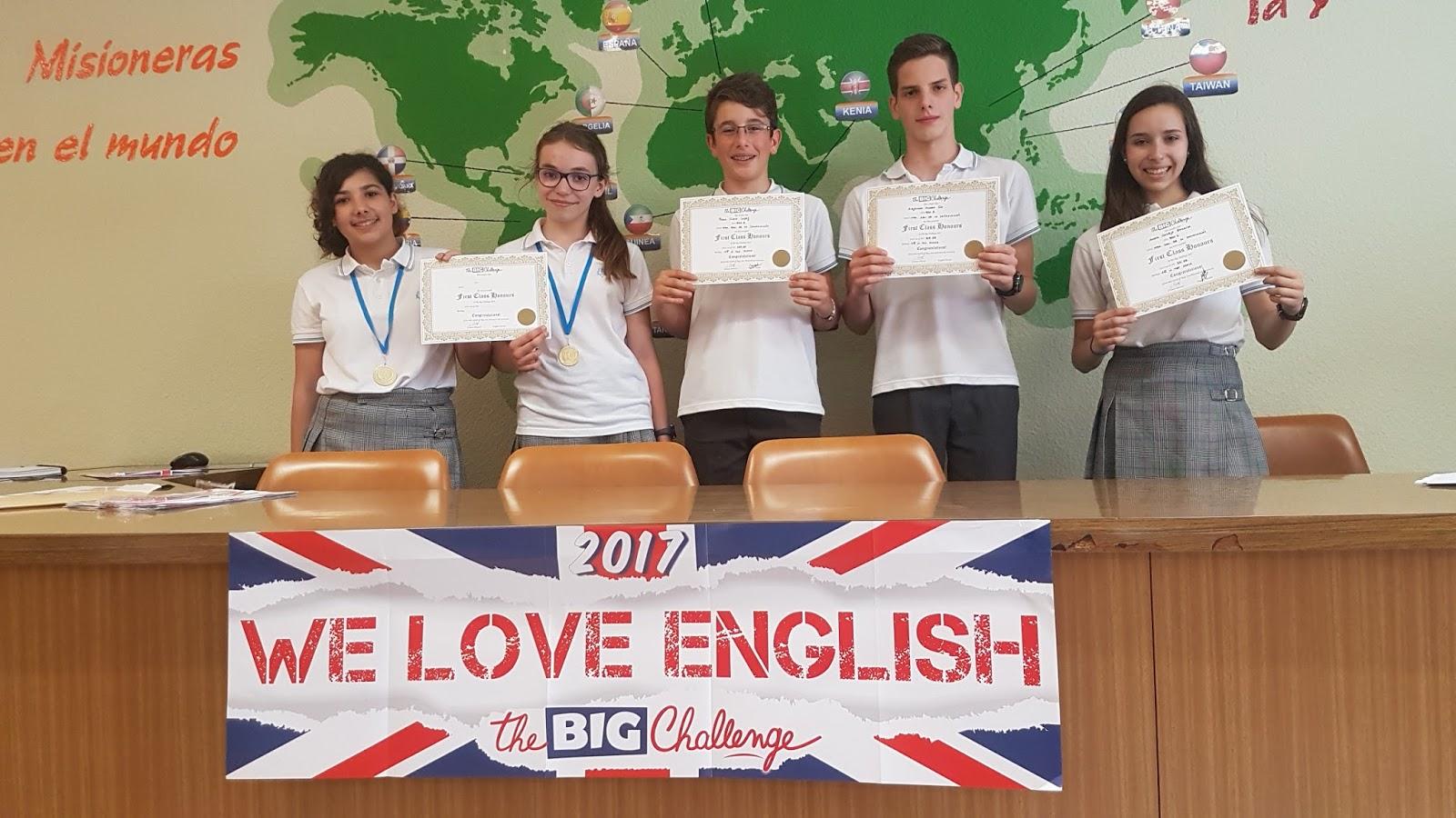 Agustinas Valladolid - 2017 - Ingles - The Big Challege