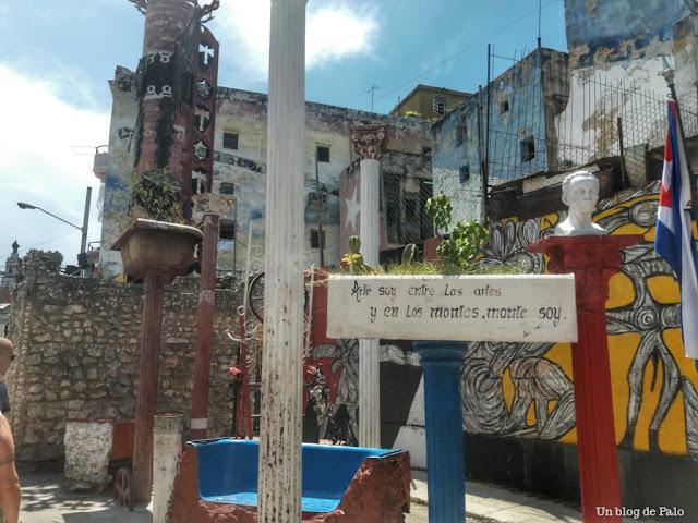 Callejón de Hammel en La Habana