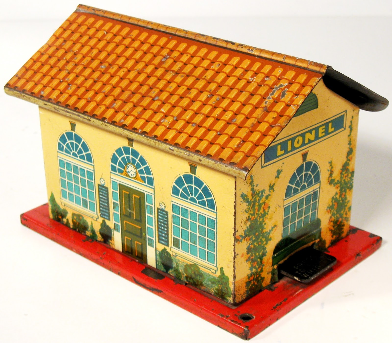 Toys and Stuff: Lionel #48W Whistle Station