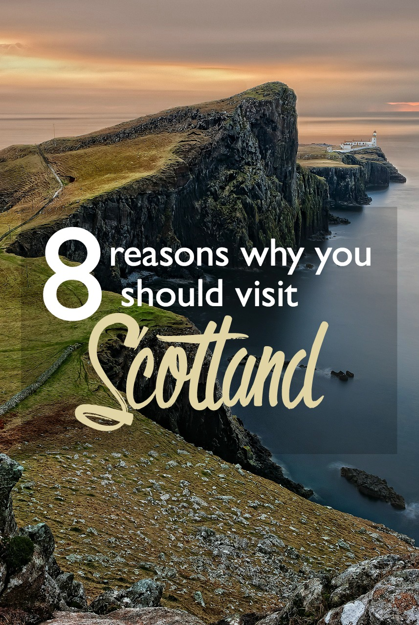 Reasons Why Makeup Is Important: 8 Reasons Why You Should Visit Scotland