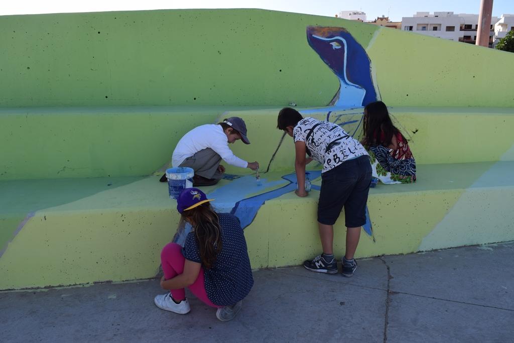 Fuerteventura.- La IV Semana de Arte Urbano tiñó de color y cultura ...