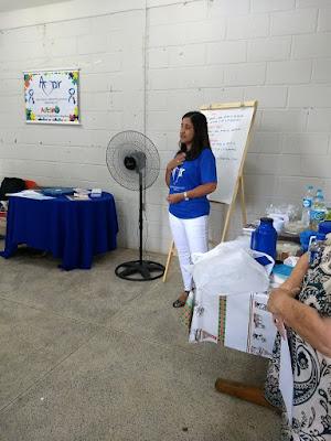Primeira Reunião de acolhimento da Amar - Associação Amigos do Autista de Registro-SP