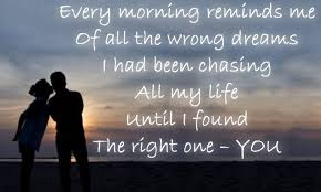 Good Morning Love Quotes: every morning reminds me of all the wrong dreams i had been chasing all my life.