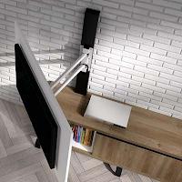 Muebles y accesorios de pared para TV