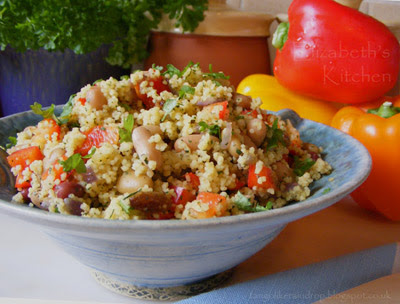 bean couscous salad