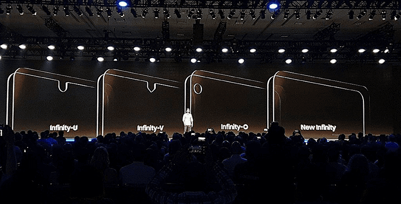 "The upcoming S10 could feature the ""New Infinity"" screen"