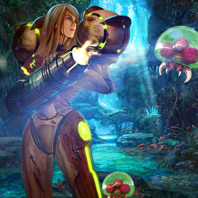 Metroid Wallpaper Engine