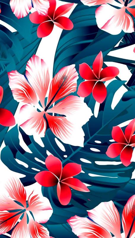 Hawaiian Print Iphone Wallpaper Find Wallpapers