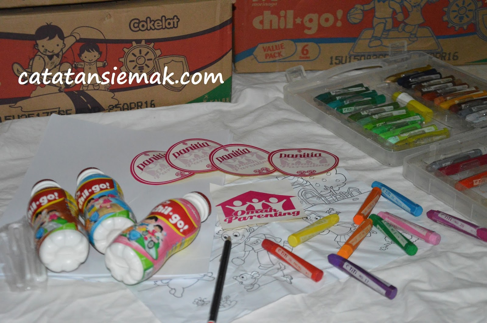Persiapan Lomba Menggambar Dan Mewarnai Bersama Chil Go Catatan Emak