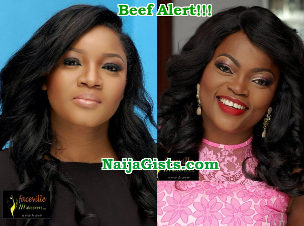 omotola jalade funke akindele fighting