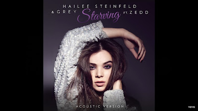 Hailee Steinfeld , Grey - Starving ( #Acoustic - #Audio ) ft. Zedd