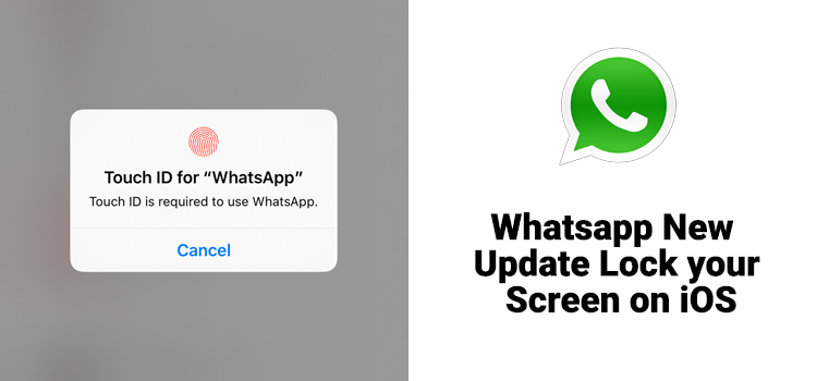 Unlock your WhatsApp with Face ID or Touch ID.