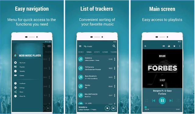Mobi Music Player Screenshots