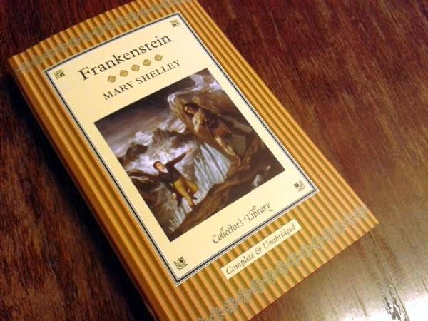 Resenha livro Frankenstein