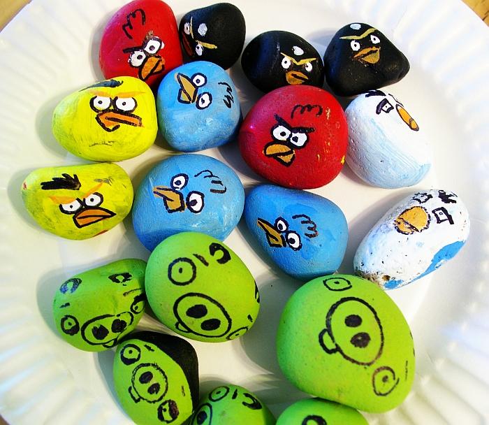 Angry Birds DIY set up