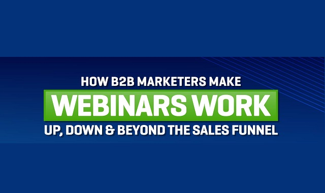 How B2B marketers make use of Webinars