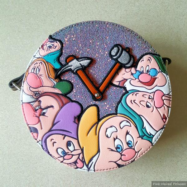 Danielle Nicole Disney Seven Dwarfs glitter bag