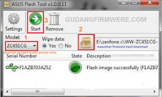 Cara Flashing Asus Zenfone 2 Z00WD