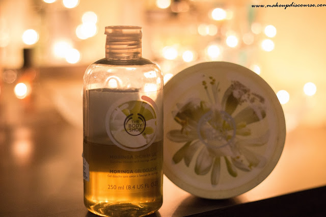 Bath Favourites The Body Shop Moringa Shower Gel, The Body Shop Moringa Body Butter