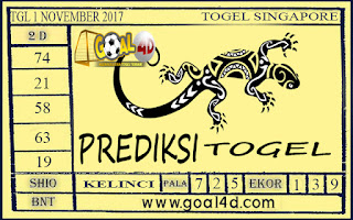 Prediksi Togel Singapore 1 November 2017