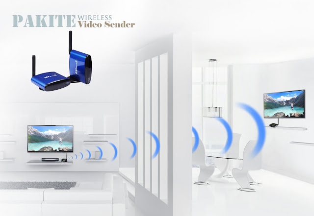 audio video Wireless TV Transmitter