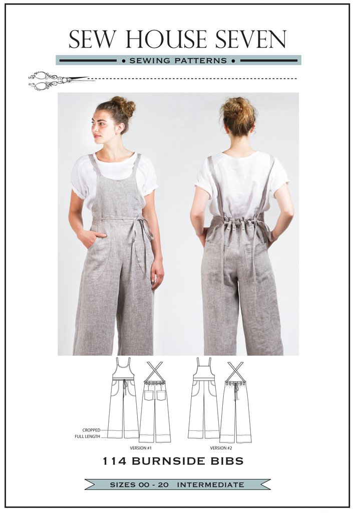 The Drapery Pattern Review Burnside Bibs By Sew House Seven