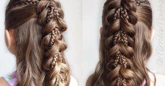 Fancy chutiya hair style for girls - Sari Info