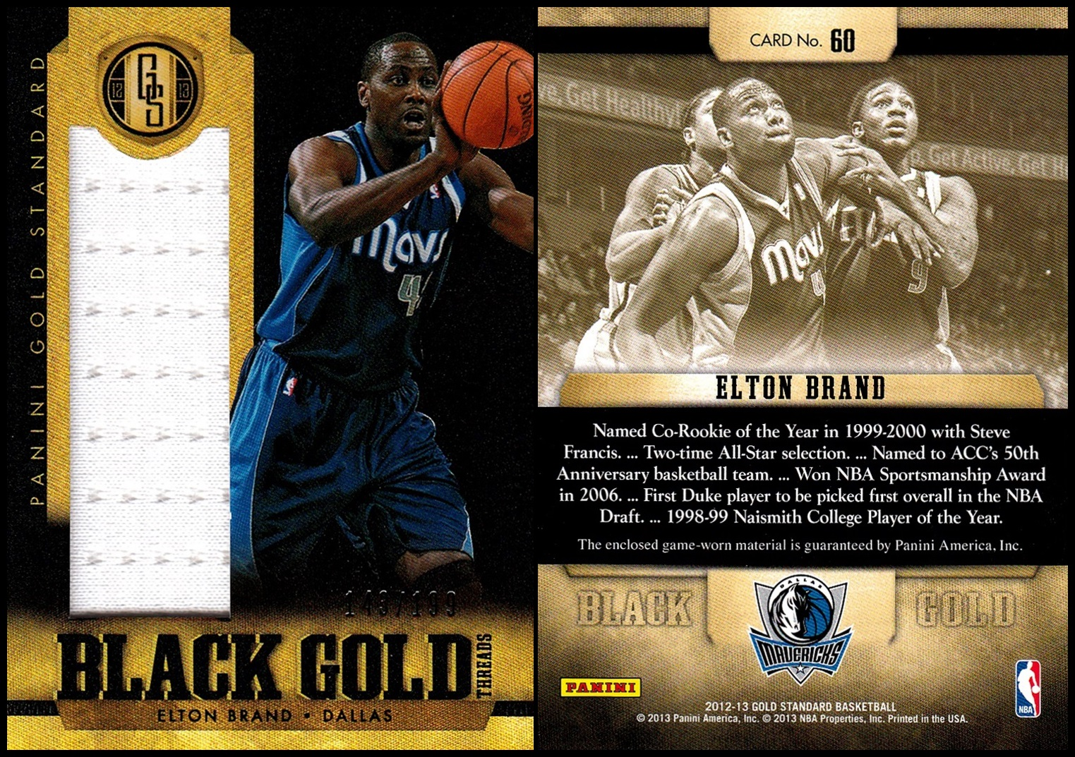 0069171e3bc  39 2010-11 Panini Season Update  22. I had only two cards from this set  but got a box for Christmas. One of the new cards I got was Elton.
