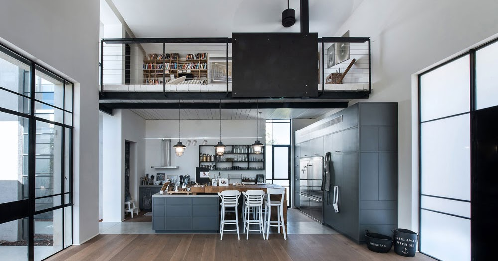 Moderna villa con patio a tel aviv blog di arredamento e for Piani casa contemporanea per lotti stretti