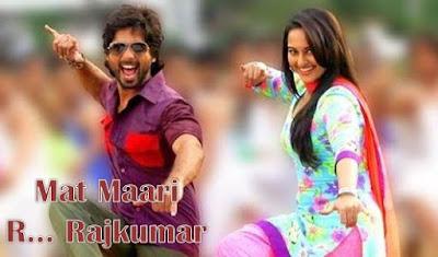 Mat Maari Lyrics - R... Rajkumar | Shahid, Sonakshi