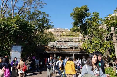 Fast Pass Counter for Indiana Jones Adventure in Tokyo Disneysea