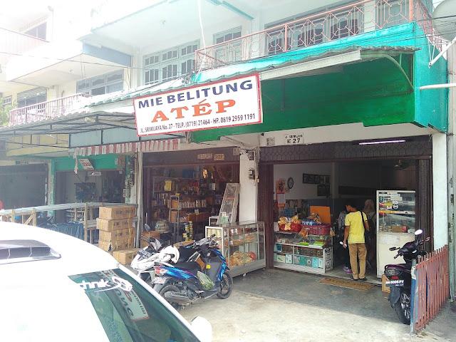 Mie Belitung Atep - Kuliner Khas Kota Belitung
