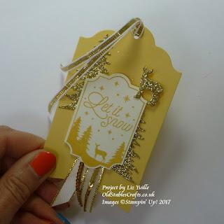 Merry Little Label Tag in So Saffron