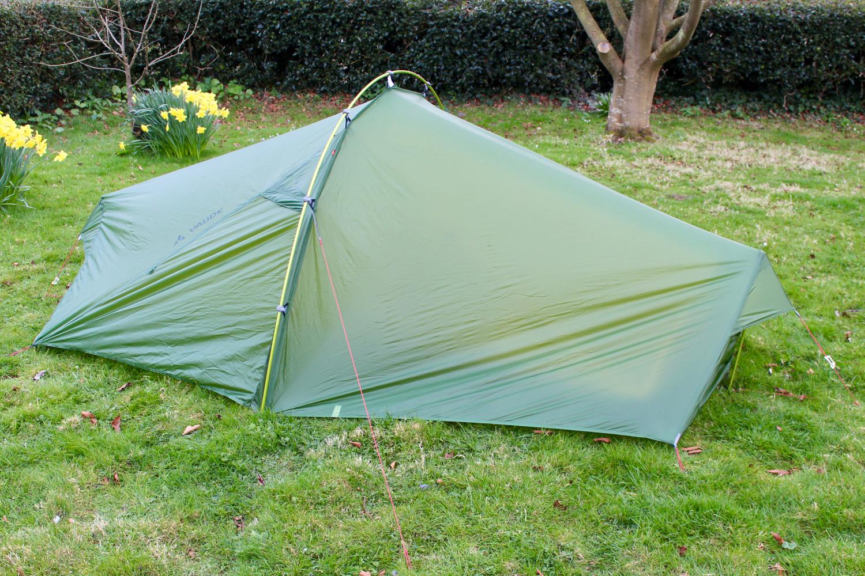 & Review - Vaude Power Lizard SUL 1-2P Touring Tent