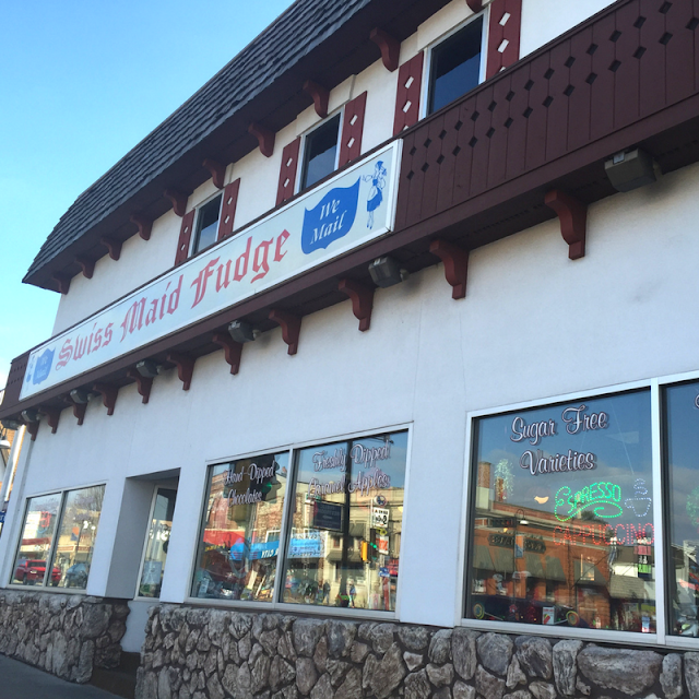 Swiss Maid Fudge Old Fashioned Confectionery in Wisconsin Dells