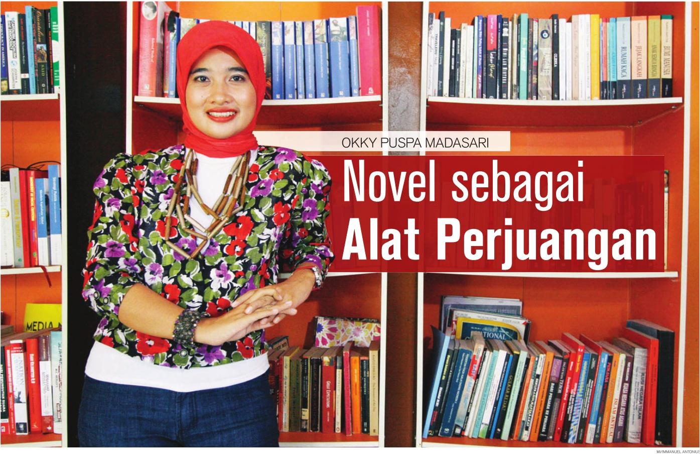 Okky Madasari, novel sebagai alat perjuangan