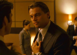 Leonardo Di Caprio as Cobb in Inception, Directed by Christopher Nolan