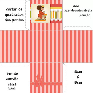 Niña Rezando: Cajas para Recuerdos de Primera Comunión para Imprimir Gratis.