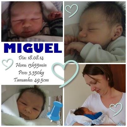 Nosso segundo pequeno príncipe nasceu!