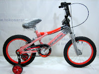 A 16 Inch Senator MX BMX Kids Bike
