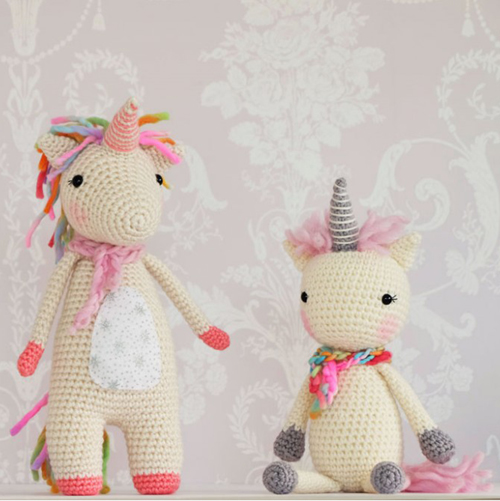 Twinkle Toes the Unicorn Crochet Pattern