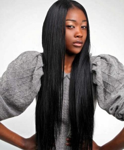 Fine Long Hair With Bangs Black Women Short Hairstyles For Black Women Fulllsitofus