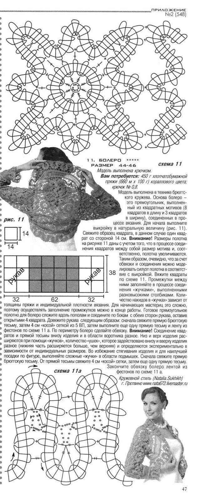 журнал МОД № 2(548) схема