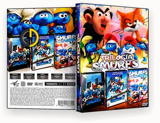 Coleção – Trilogia Smurfs (2018) – ISO