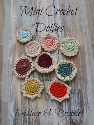 Crochet mini doilies