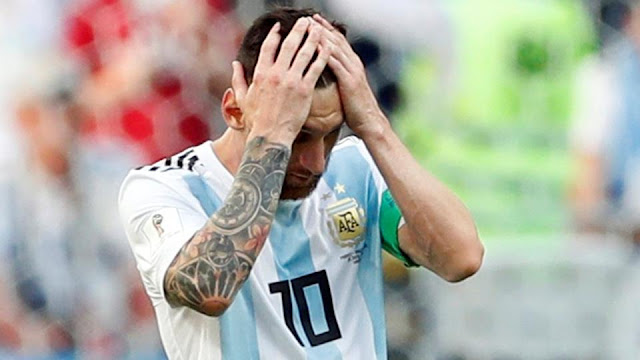 France dump Lionel Messi's Argentina out of FIFA World Cup 2018