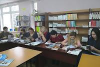 grupele PP33R şi PP43R si cadru didactic Aliona Briţchi, dr., lector universitar in BS USARB