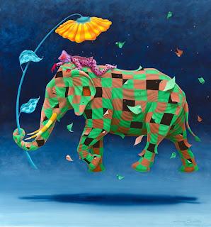 romántica-pintura-surrealista pinturas-surrealista-arte
